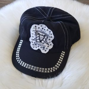 B2G1 NWT Disney TNBC Jack Skellington Studded Hat